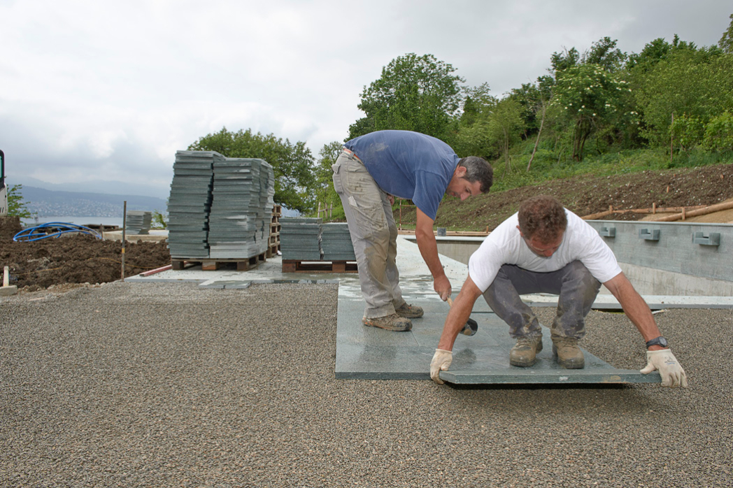 Natursteinarbeiten Spalinger Gartenpflege Ag